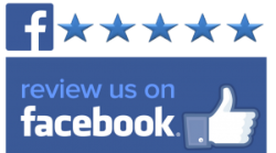 Button to leave a Facebook Review